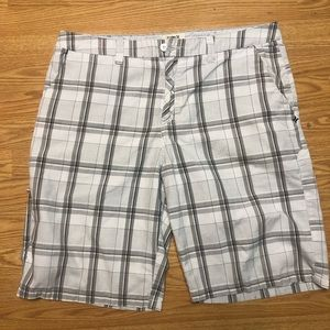Hurley Men's size 36 Plaid Casual Shorts